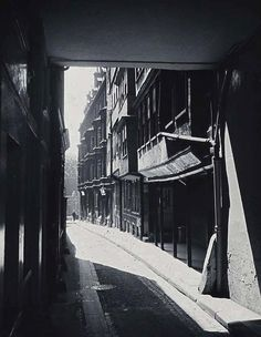 Middle Temple 1890's. Encapsulating the atmosphere of Victorian London.