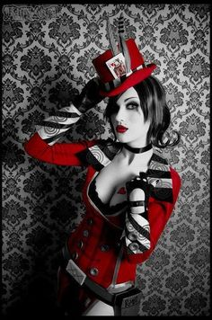 #Steampunk Queen of Hearts