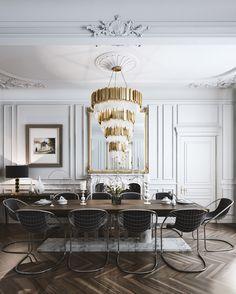parisian loft on Behance