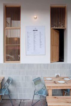 Cantina Mexicana Restaurant by Taller Tiliche / photograph by LGM Studio - Luis Gallardo / amazing concrete tiles at 1200 high