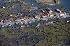 Photo aérienne de : La Tremblade - Charente-Maritime (17)