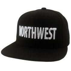 Northwest Hat Black White 50967b7342d0