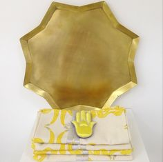 Can you believe it's almost November!? It feels wintery this morning in the most magical of ways. Add some color to the winter months with our brass star trays, stork table linens, and yellow embroidered hand charms. #ecru #home #accessories #interiors #decor #brass #yellow #gold #linen #tablescape All these pieces are available both online at www.ecruonline.com as well as in store in AlOthman.
