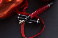 Conklin Duragraph Red Nights Fountain Pen