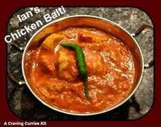 Ian made one our new range - Chicken Balti and loved it! Indian Curry, Curries, Cravings, Range, Dishes, Chicken, Ethnic Recipes, Food, Cookers