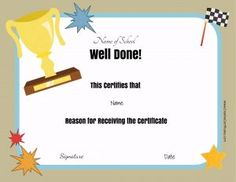 well done award certificates certificate templates student of the month student motivation
