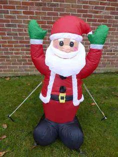 Inflatable Santa Christmas decoration