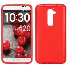 Funda LG G2 - Gel Rojo  $ 42,11