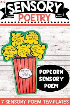 Sensory Poetry | Sensory Language Activities | Poetry Writing Activities
