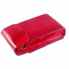 iPurse® Genuine Red Lizard Leather Phone case/Wallet/Evening purse