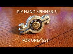 DIY Hand Spinner/ Fidget Toy for $5!! - YouTube