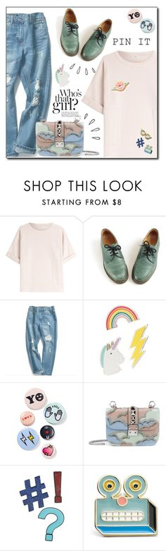 """""""Untitled #333"""" by mari-meri ❤ liked on Polyvore featuring Brunello Cucinelli, Dr. Martens, Chuoku, Red Camel, Bing Bang, Kershaw, Valentino, Old Navy, Design Lab and FOSSIL"""