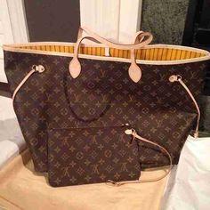 Louis Vuitton Handbags Neverfull Louis Vuitton Handbags #lv bags#louis vuitton#bags