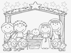 Bible Fun For Kids: Baby Jesus Song & More for Preschool Preschool Christmas, Christmas Nativity, Christmas Activities, Christmas Crafts For Kids, Christmas Colors, Kids Christmas, Holiday Crafts, Christmas Bible, Nativity Crafts