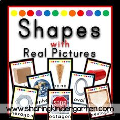 classroom decor and labels with real pictures - printable kindergarten classroom labels
