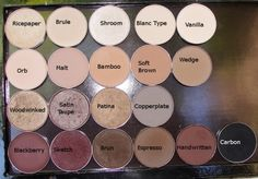 MAC eyeshadow that should be in everyone's kit. Most of these recommendations are pretty legit. Shroom and Brun are my favs. Mac Makeup, Makeup Kit, Love Makeup, Skin Makeup, Makeup Inspo, Makeup Inspiration, Beauty Makeup, Makeup Looks, Hair Beauty