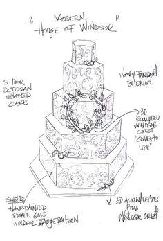 31 Best Wedding Cake Sketches Images Cake Sketch Wedding Cake