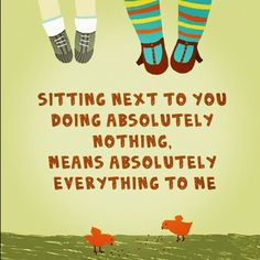 """What does it mean to our kids when we just """"hang out"""" with them?    http://creativewithkids.com/doing-nothing/"""
