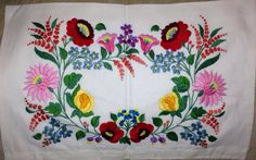 Hungarian vintage pillow case by DucoteArte on Etsy, $19.95