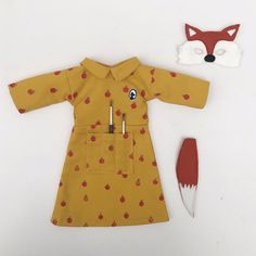 Mrs. Fox costume set by mikodesign on Etsy