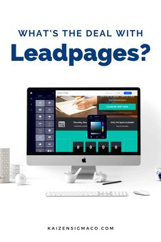 Is Leadpages software a good idea for your online business? Learn all about Leadpages, prices, how it works, landing pages, design, pros and cons. Kaizen Sigma helps local businesses with time-tested marketing techniques, strategy, content marketing, social media management, advertising and video production. Follow for tips and hacks for entrepreneurs. #businesstips #onlinebusiness Email Marketing Design, Online Marketing Tools, Content Marketing, Make Business, Business Tips, Online Business, Create Landing Page, Responsive Site, Best Online Courses