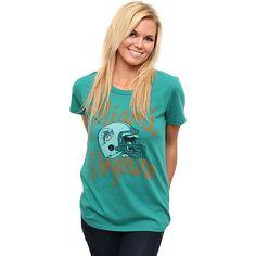 Women's Junk Food Miami Dolphins Kick-Off T-Shirt - NFLShop.com