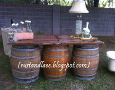 Rust and Lace: rustic wedding