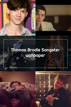 Thomas Brodie Sangster wallpaper