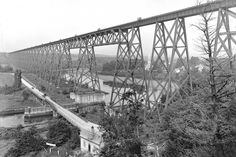 Le tracel de Cap-Rouge en 1916 Quebec Montreal, Quebec City, Canada, Vintage Photos, Images, Hui, Trains, Pictures, Antique