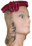 Pink 50s hat
