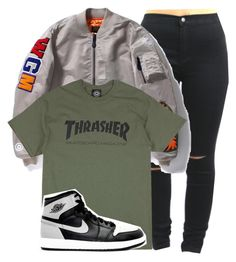 """""""Bape bombers are everything"""" by shyannelove123 ❤ liked on Polyvore featuring A BATHING APE and Retrò"""