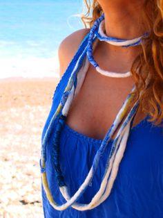 """Th-Eros"" - ""Θ-έρως"".   Felted summer accessories by Philosopher's Joke. #ethnic #greek #summer"