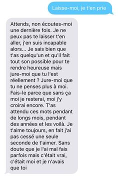 love texts for her ; love texts to boyfriend romantic ; love text for him ; love text messages for him ; love text to boyfriend Messages For Him, Cute Messages, Text Messages, Inspirational Tweets, Love Text, French Quotes, Bad Mood, Some Words, True Quotes