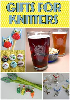 An Etsy Treasury Of Unique Gifts For Knitters Knitting Crochet Quilt Knit