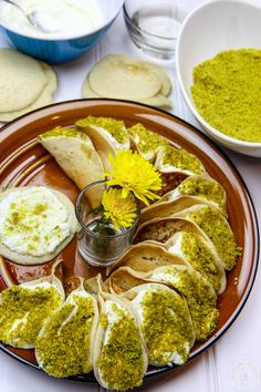 Indian Dessert Recipes, Sweets Recipes, Cooking Recipes, Ethnic Recipes, Arabic Sweets, Arabic Food, Arabic Dessert, Lebanese Desserts, Lebanese Recipes