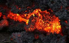 A #closeup of #lava from an #eruption of #Holuhraun in #Iceland. One thing that we must keep in mind is that the intensity of anger can quickly cool down and harden our hearts, turning it into resentment and apathy.