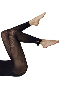 92bfe0b1c Gipsy Striped Tie Side Footless Tights 1150. Sheer LeggingsFootless TightsFloral  TightsHigh ...