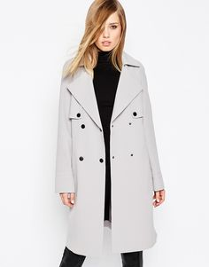 Asos has the best trench coats for the best price! Click to look through more on ShopStyle