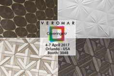 We will be happy to present you our new collection of exclusive natural stone and ceramics products at Coverings trade show.  #VeromarMarble #Coverings2017 #Coverings #marble #mosaic #tile #ceramic #naturalstone #stonefair #interiordesign #porcelain