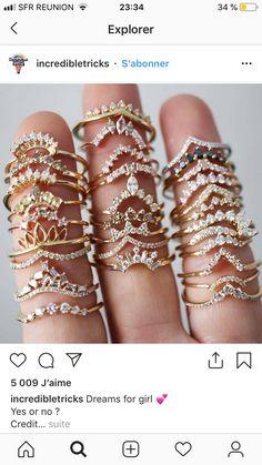 Cute Jewelry, Gold Jewelry, Jewelry Box, Jewelry Rings, Jewelery, Jewelry Accessories, Fashion Accessories, Fashion Jewelry, Cute Rings