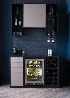 California Closets DFW - Luxury Closet Wine and Coffee Bar