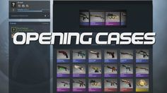 Opening CS:GO Cases to Get Skins!
