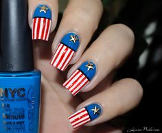 American Nails - Independance Day / Nailstorming • LizanaNails