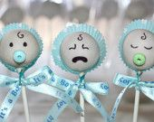 Cake pops- I need these for the boys baby shower! Lol Cake pops- I need these for the boys baby shower! Baby Shower Cupcakes For Girls, Baby Shower Treats, Baby Shower Cake Pops, Pop Baby Showers, Baby Shower Parties, Baby Shower Gifts, Baby Cake Pops, Baby Boy Cakes, Cakes For Boys