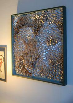 Blott Kerr-Wilson, shell artist:  Studio