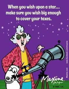 When you wish upon a star... make sure you wish big enough to cover your taxes.