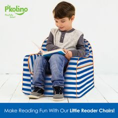 Make reading even better for your child with our amazing Little Reader Chairs!
