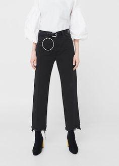 dc473f663909 Jeans   MANGO Damen, Neue Wege, Neueste Mode Trends, Jeans Frauen, Bestickte