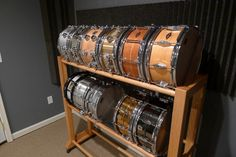 homemade snare drum rack. & DIY Snanre and Cymbal rack | Music | Pinterest | Drums Storage and ...