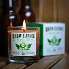 Make Your Home Smell Like a Brewery with 'Brew Candles'